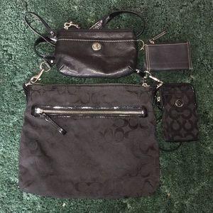 Coach bag bundle set